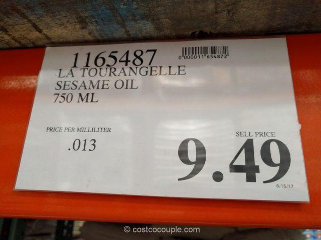 La Tourangelle Toasted Sesame Oil Costco