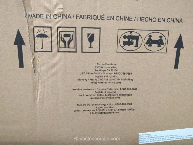 Martin Furniture 43-Inch Accent Cabinet
