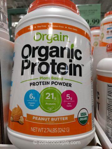 Orgain Organic Protein Powder Peanut Butter Costco
