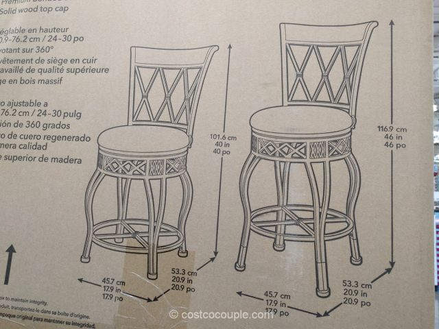 Pulaski 2-in-1 Barstool Costco