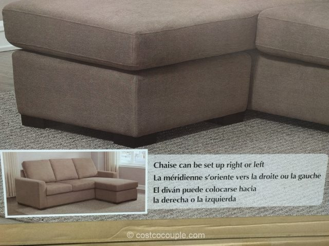 Pulaski Fabric Sofa Chaise Costco