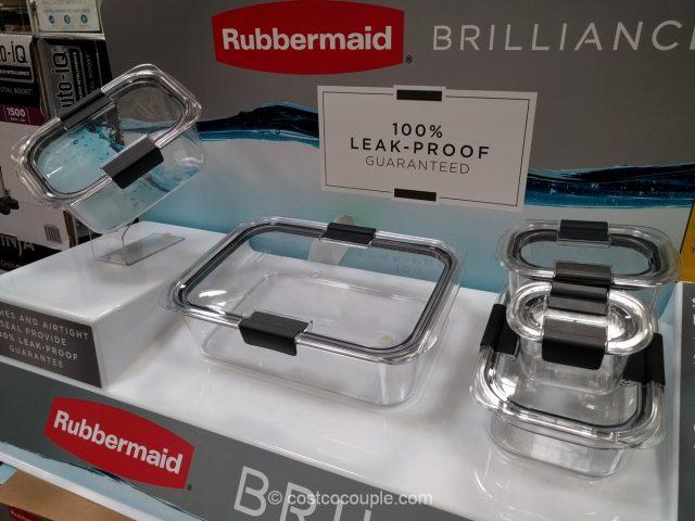 Rubbermaid Brilliance Food Storage Set