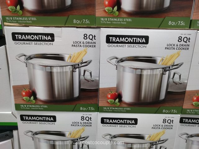 Tramontina Lock and Drain Pasta Cooker Costco
