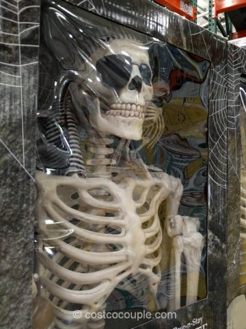 60-Inch Pose-N-Stay Pirate Skeleton Costco