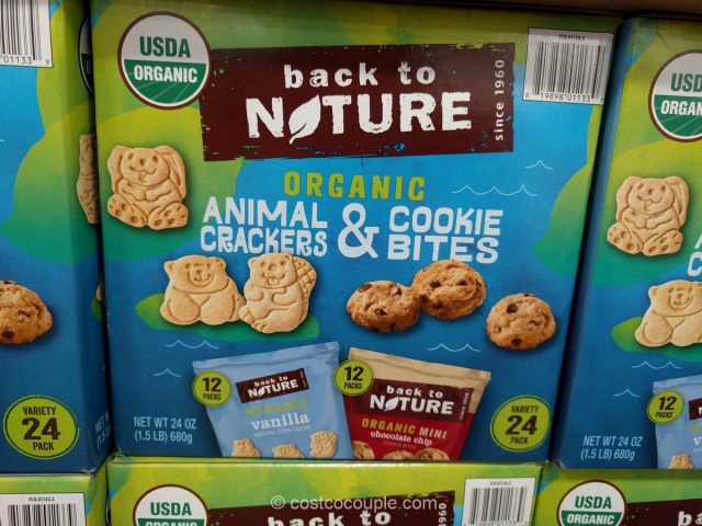 Back to Nature Organic Cookie Variety Pack Costco