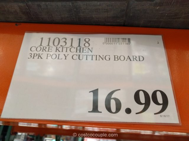 Core Kitchen Cutting Board Set Costco