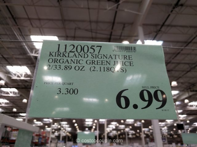 Kirkland Signature Organic Green Juice Costco
