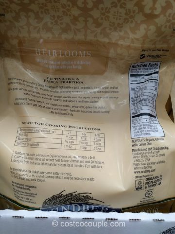 Lunberg Farms Organic Calrose Rice Costco