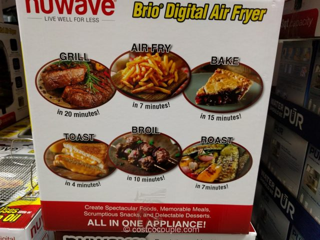 Nuwave Brio Digital Air Fryer Costco