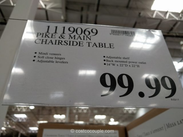 Pike and Main Chairside Table Costco