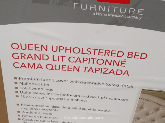 Pulaski Furniture Upholstered Queen Bed Costco
