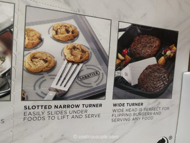 Sabatier 4-Piece Turner Set Costco
