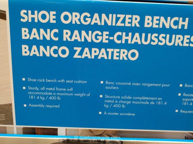 Shoe Organizer Bench Costco