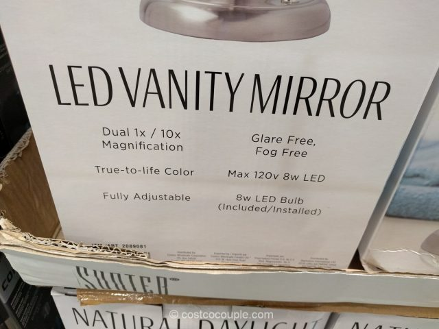 Sunter LED Vanity Mirror Costco