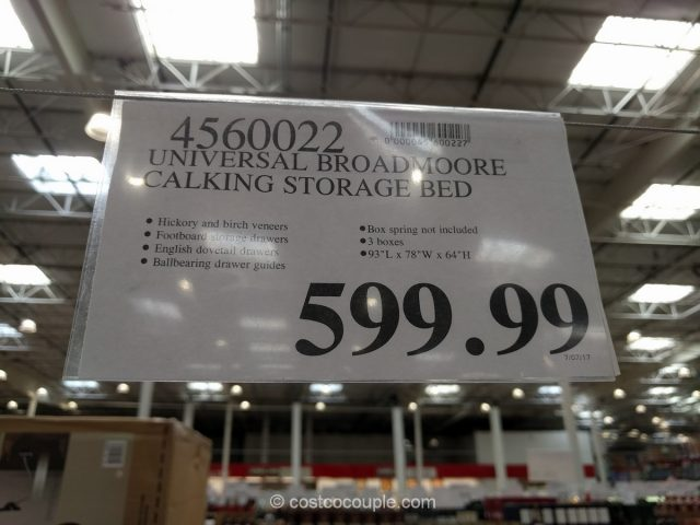 Universal Broadmoore Storage Bed Costco