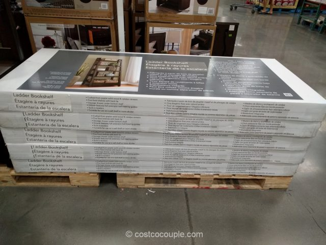 Well Universal Ladder Bookcase Costco
