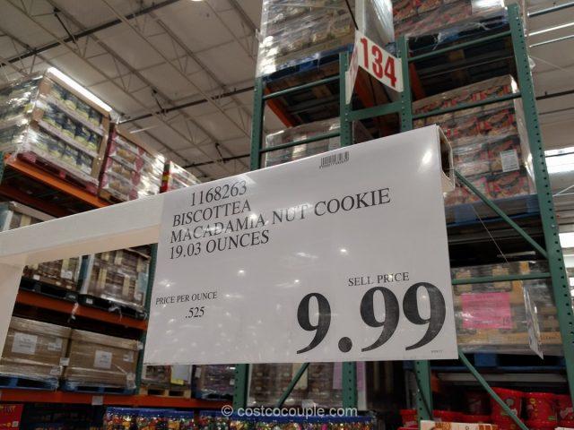 Biscottea Macadamia Nut Butter Cookies Costco
