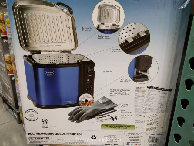 Butterball Indoor XL Electric Fryer Costco