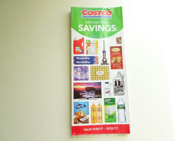 Costco October 2017 Coupon Book