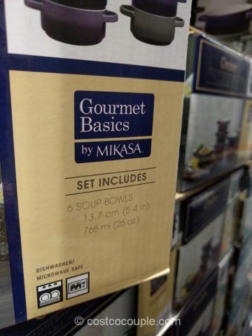 Gourmet Basics by Mikasa Ombre Bowl Set Costco