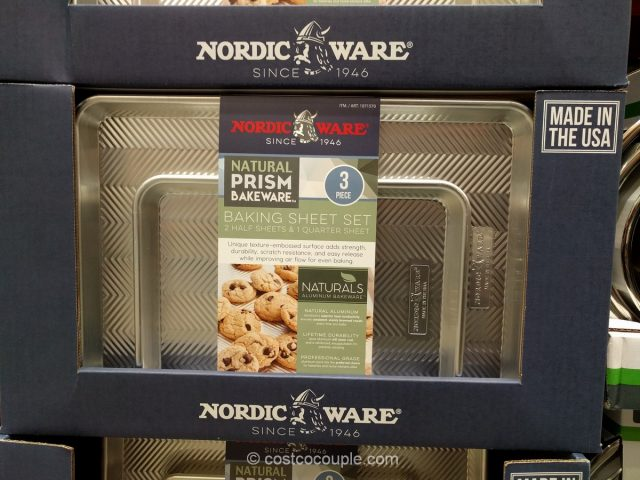 Nordic Ware 3-Piece Prism Baking Sheet Set Costco