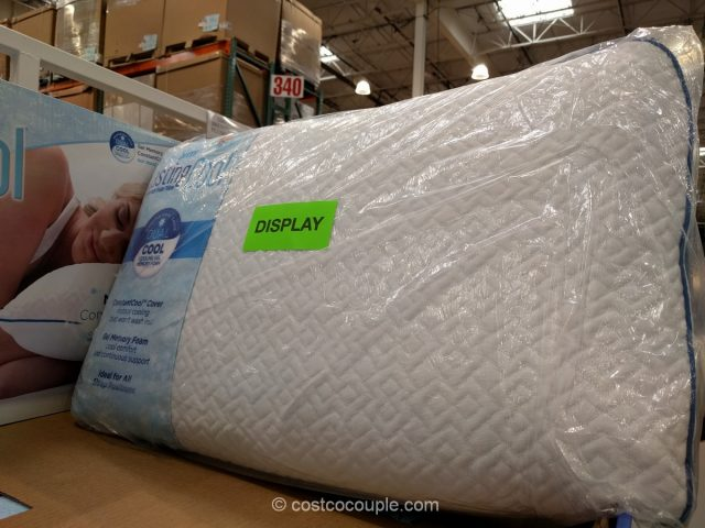 Novaform Lasting Cool Gel Memory Foam Pillow
