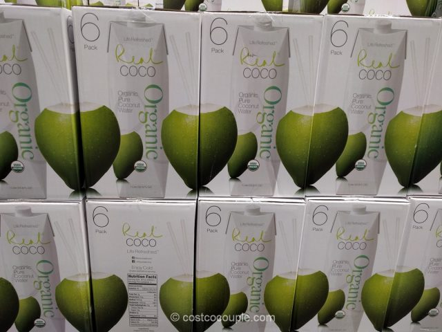 Real Coco Organic Coconut Water Costco