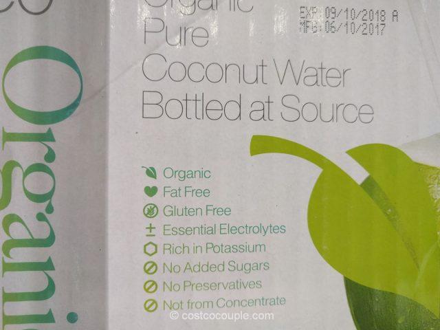 Real Coco Organic Coconut Water Costco