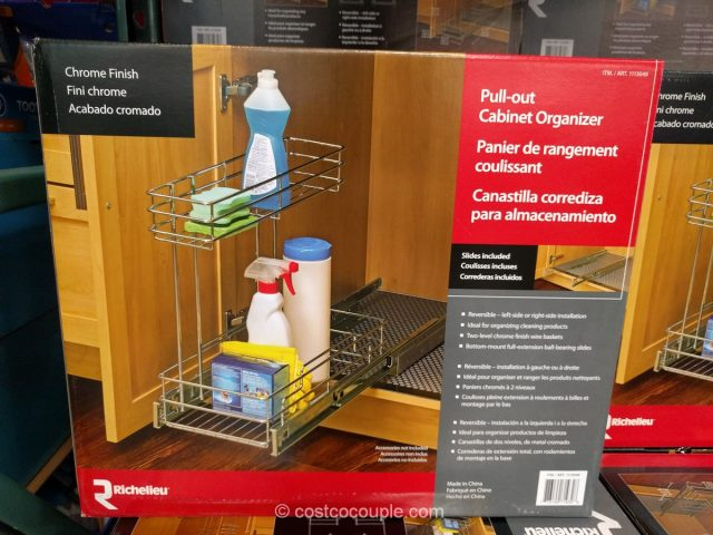 Richelieu Pull-out Cabinet Organizer Costco
