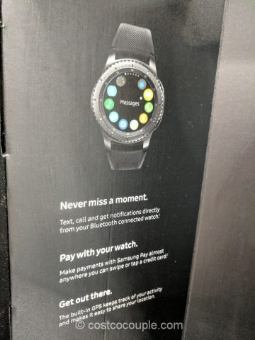 Samsung Gear S3 Frontier Smartwatch Costco