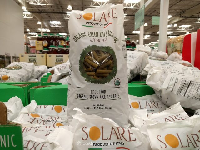 Solare Organic Brown Rice and Kale Rigatoni Costco