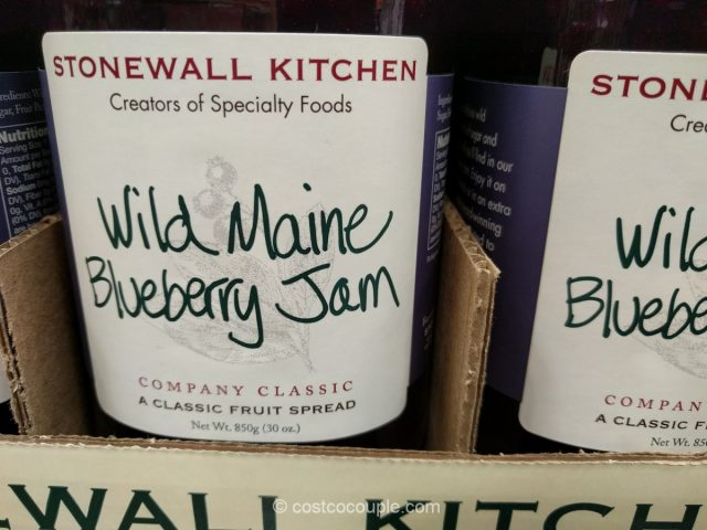Stonewall Kitchen Wild Maine Blueberry Jam Costco