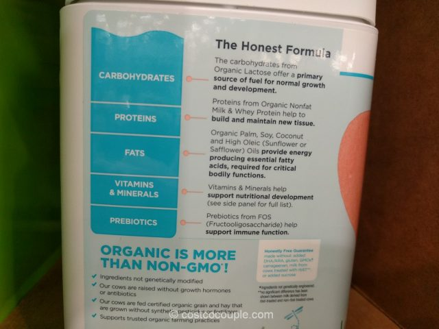 The Honest Company Organic Premium Infant Formula Costco