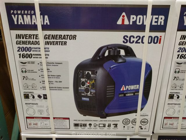 Yamaha Generators At Costco : Ipower powered by yamaha sc i inverter generator