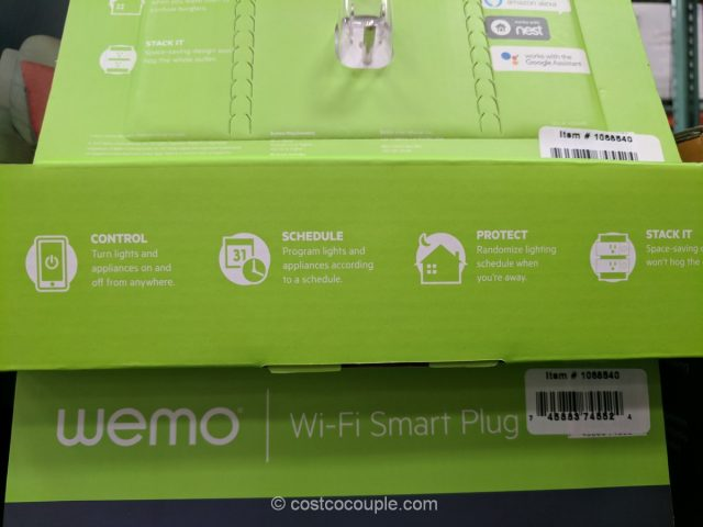 Belkin Wemo Mini Smart Plug Costco