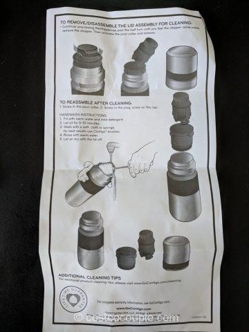 Contigo Stainless Thermal Bottle Costco