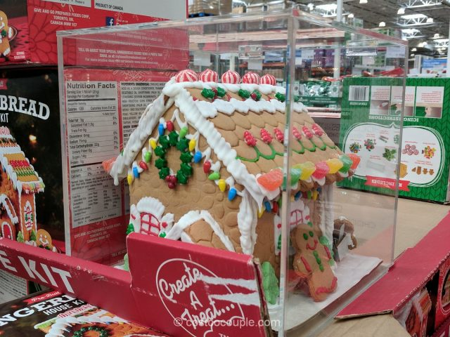 Create-a-Treat Gingerbread House Kit Costco