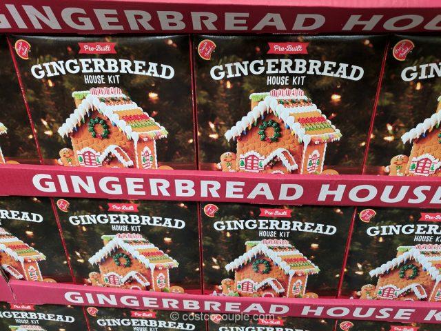 Create-a-Treat Gingerbread House Kit Costco