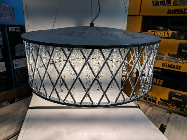 Design Solution 6 Light Adjustable Pendant Costco