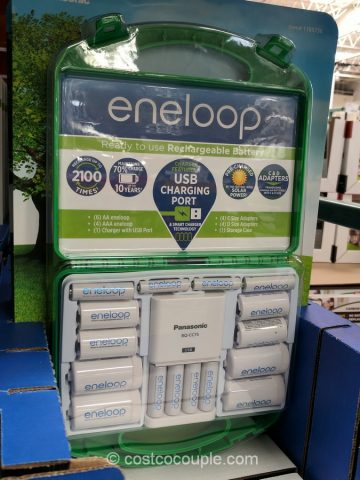 Eneloop Rechargeable Battery Kit Costco