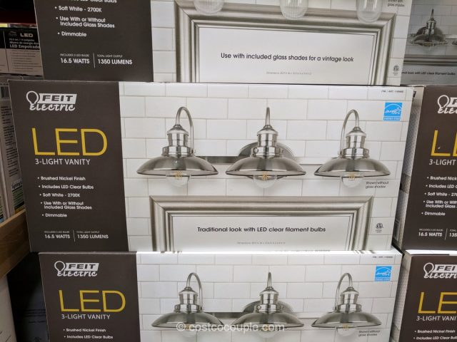 Feit Electric 3-Light LED Vanity Costco