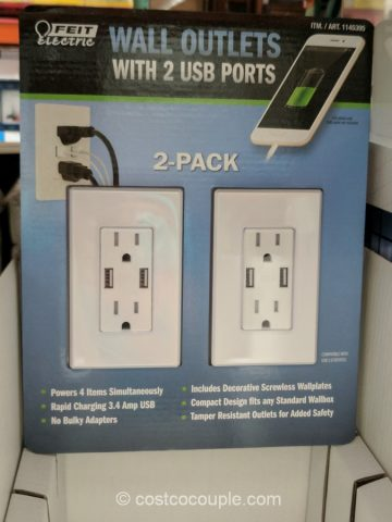 Feit Electric Wall Outlets With Usb Ports