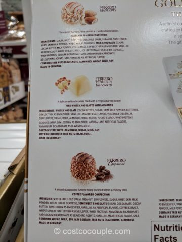 Ferrero Rocher Golden Gallery Costco