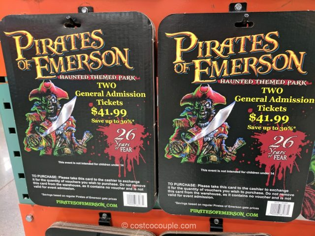 Pirates of Emerson Gift Card Costco