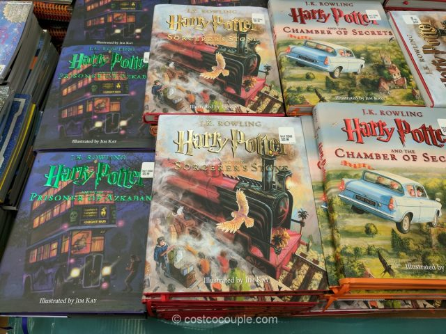 Harry Potter Book Set Costco : Harry potter illustrated editions