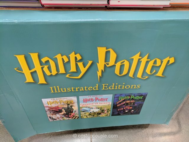 Harry Potter Illustrated Editions Costco