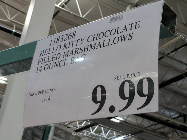 Hello Kitty Chocolate Filled Marshmallows Costco