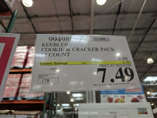 Keebler Cookie and Cracker Pack Costco