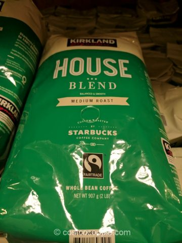 Kirkland Signature Starbucks Fair Trade House Blend Costco