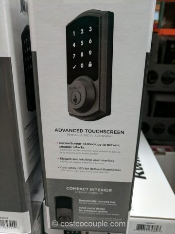 Kwikset Touchscreen Electronic Deadbolt Set Costco
